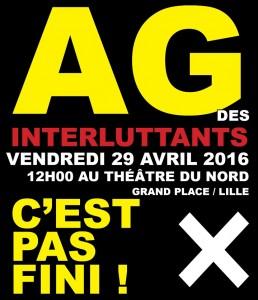 AG 29 avril 2016